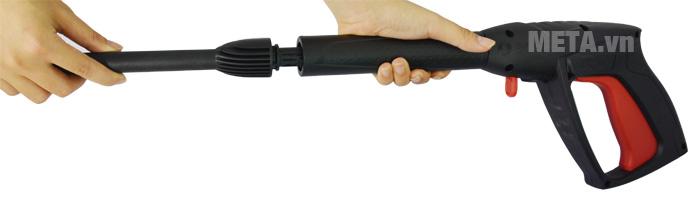 Lắp thân phun với súng phun