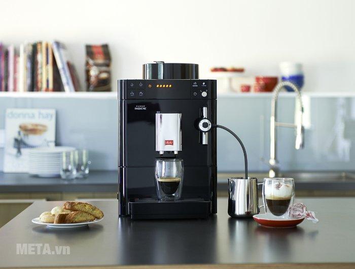 Máy pha cà phê Melitta Caffeo Passione OT mang đến những ly cà phê thơm ngon
