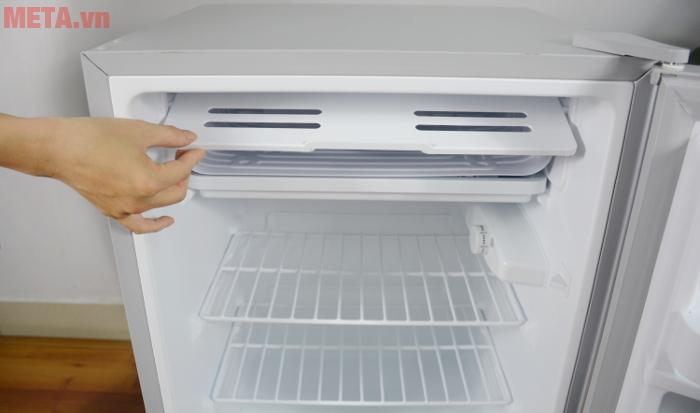 Ngăn đá của tủ lạnh mini 98 lít Midea HS-122SN