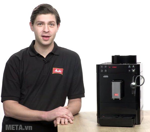 Máy pha cà phê Melitta Caffeo Passione sử dụng đơn giản