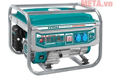 Hình ảnh máy phát điện chạy xăng Total TP130005
