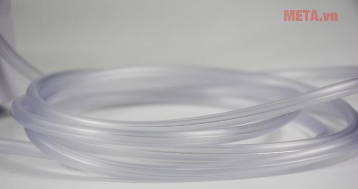 Ống dẫn khí được làm bằng chất liệu dai bền, an toàn sức khỏe
