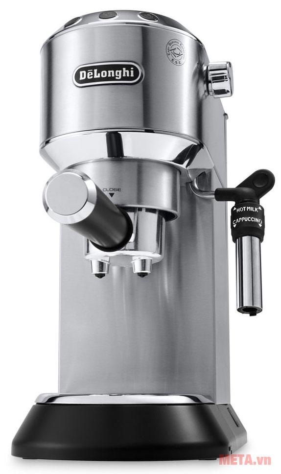 Máy pha cà phê Delonghi EC685.M có thể pha 2 tách cùng lúc