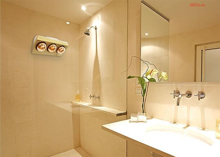 Image result for chọn đèn phù hợp với phòng tắm
