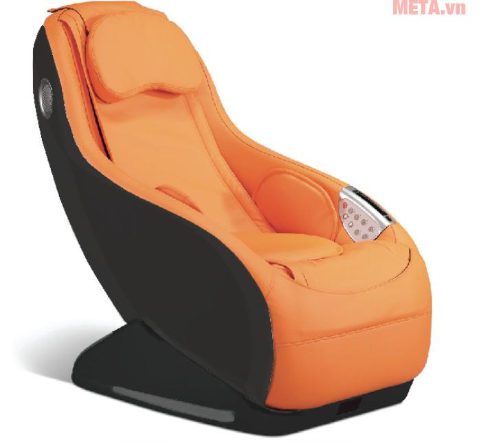 Ghế massage mini thông minh Maxcare Max682 màu cam