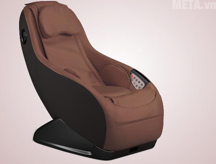 Ghế massage mini thông minh Maxcare Max682 màu nâu