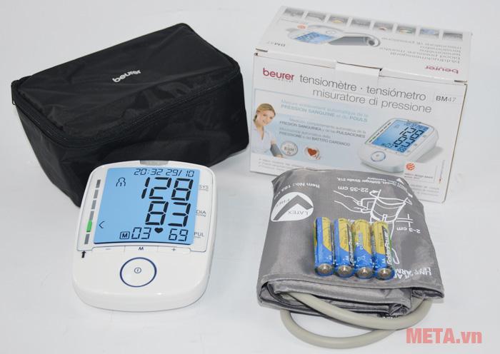 Bộ máy đo huyết áp bắp tay Beurer BM47