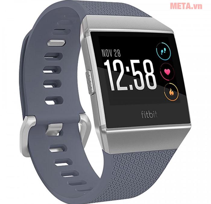 Đồng hồ đeo tay thông minh Fitbit Ionic màu xám
