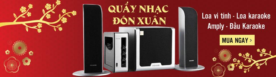 Quay nhac don Xuan