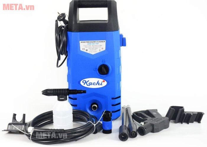 Máy phun xịt rửa cao áp Kachi - 1400W giúp công việc xịt rửa dễ dàng