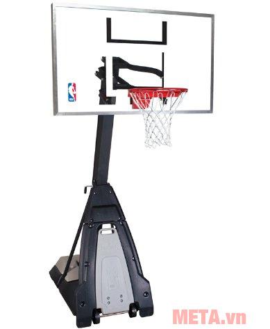 Hình ảnh trụ bóng rổ Spalding