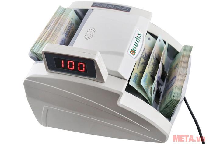 Hình ảnh máy đếm và kiểm tra tiền giả Oudis OD-8899A