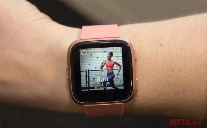 Đồng hồ thông minh Fitbit Versa màu hồng