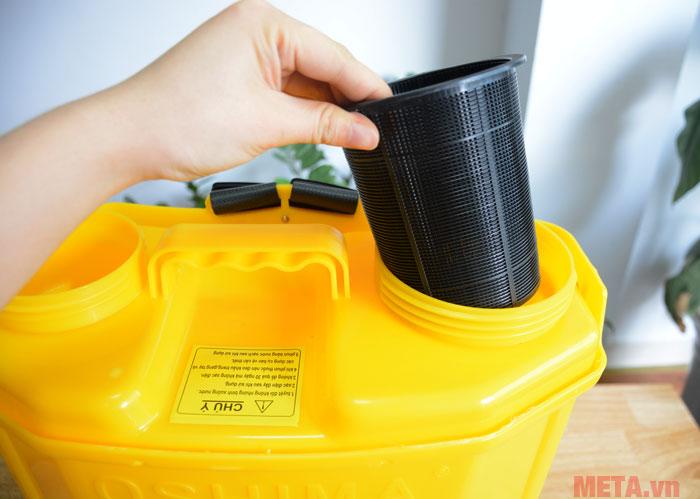 Ống lọc nước đảm bảo nguồn nước không có rác thải