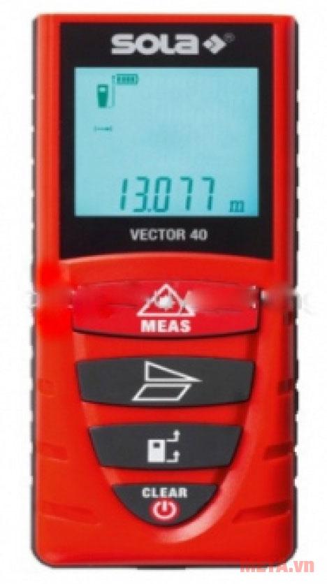 Máy đo khoảng cách laser Sola Vector 40M