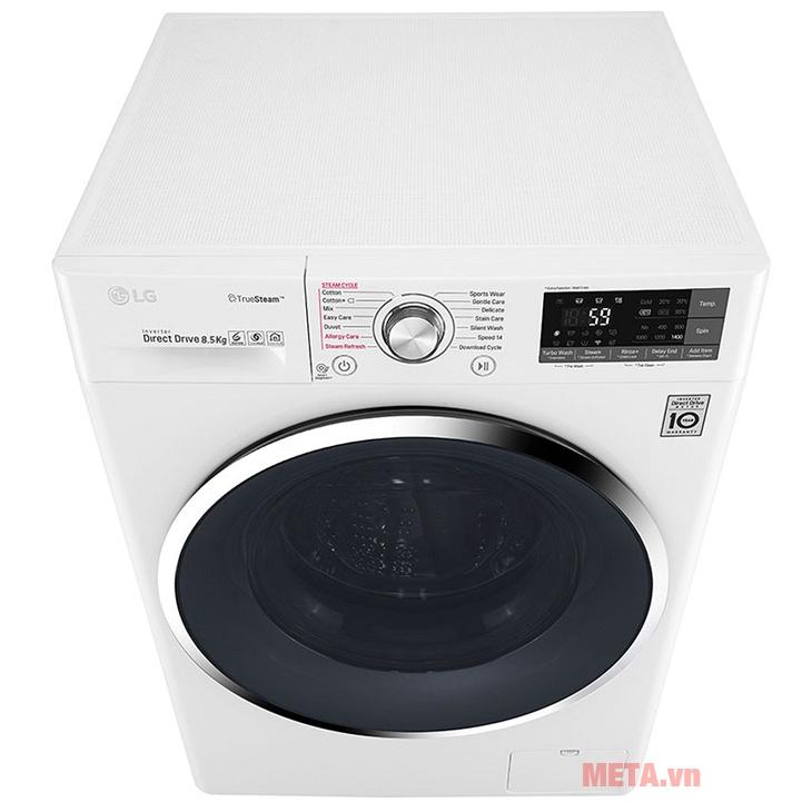 Máy giặt FC1485S2W có màu trắng tao nhã