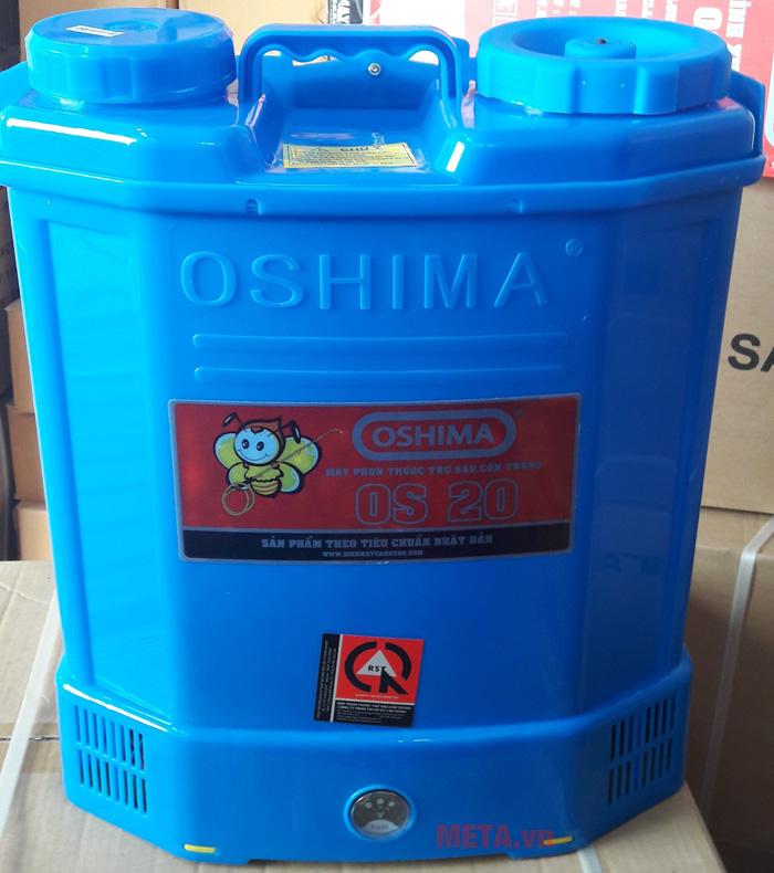 Bình xịt điện Oshima OS20 màu xanh