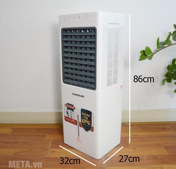 Kích thước của máy làm mát