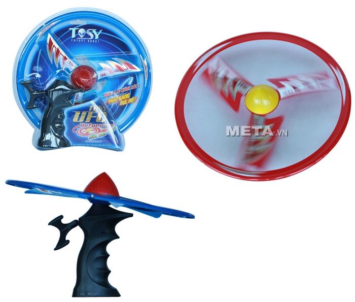 Đĩa bay Tosy Ufo Returning gồm súng bắn và đĩa bay.