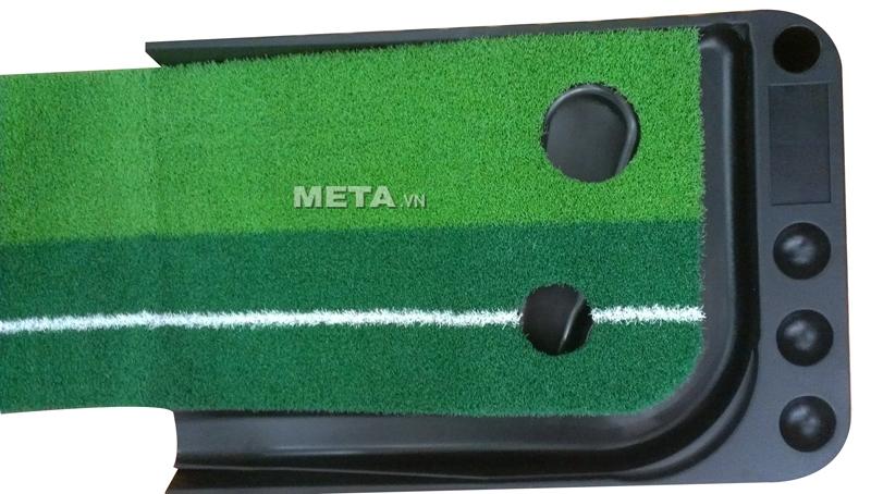 Thảm tập Golf Putting 2 Color màu đen