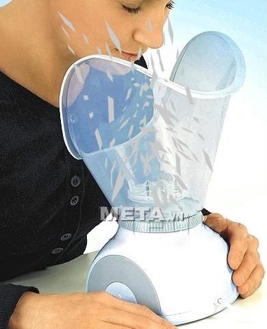 Hình ảnh minh họa cách hoạt động của máy xông mặt FSS.
