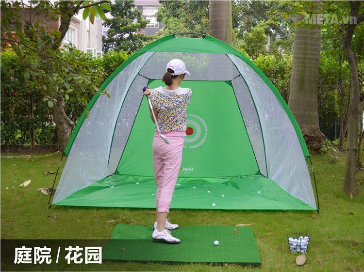 Bộ lưới tập Golf di động 2m x 1.4m dành cho người chơi Golf