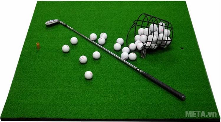 Hình ảnh thảm tập Golf VanDat Swing 100cm x 110cm