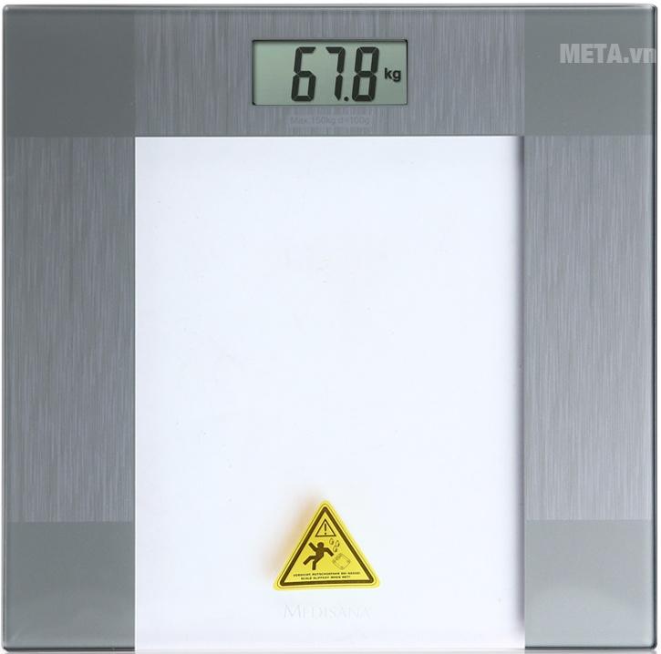 Cân sức khỏe điện tử Medisana PS 400 giúp kiếm soát chính xác trọng lượng cơ thể bạn