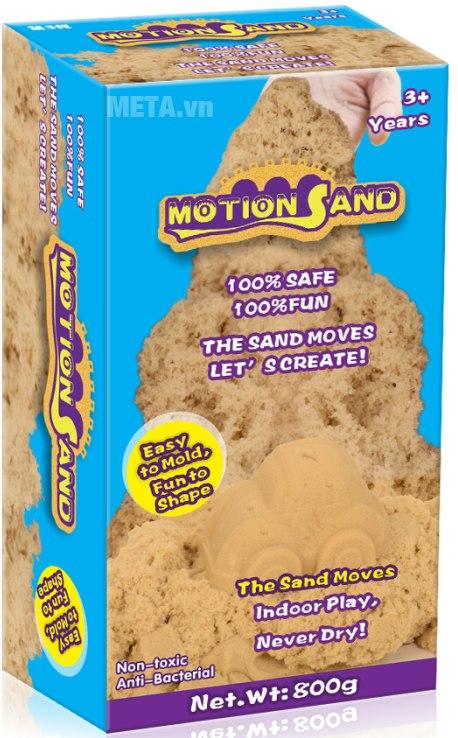 Cát tạo hình không bao gồm khuôn Motion Sand MS 800G.