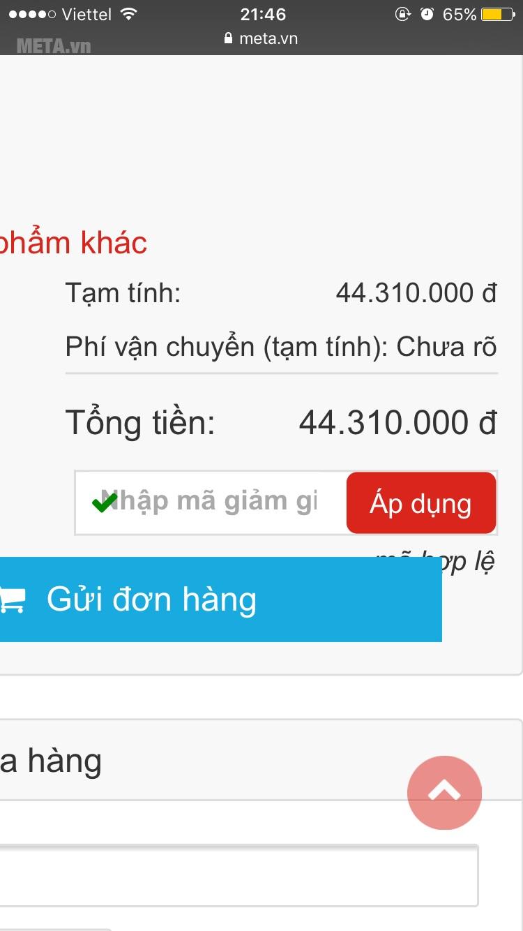Miễn phí giao hàng với đơn hàng trên 500.000 đồng tại nội thành HN và HCM.