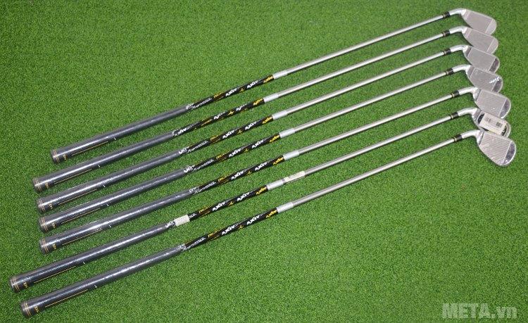Bộ gậy golf Nike Iron Sets SQ MRG IR 4-PW E (GI7130-001) cho khoảng cách đánh bóng xa.