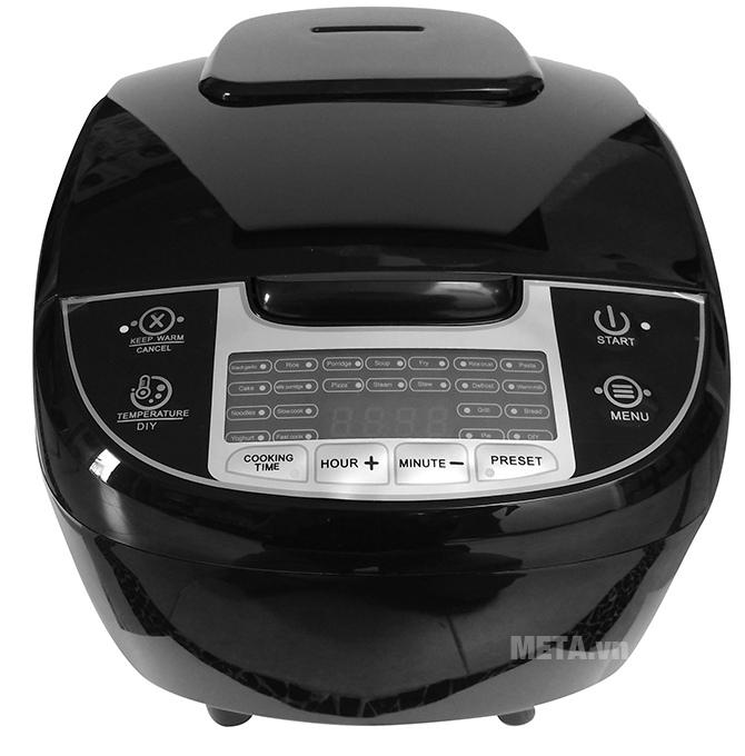 Máy làm tỏi đen nhiệt 4D ceramic Perfect PF-MC108 màu đen