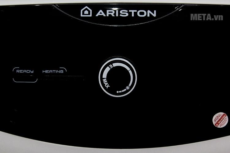 Bình nóng lạnh gián tiếp Ariston SL 20 2,5 FE 20L với đèn báo nóng.