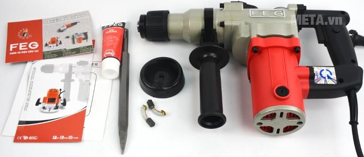 Trọn bộ máy khoan động lực FEG EG-550 (26mm)