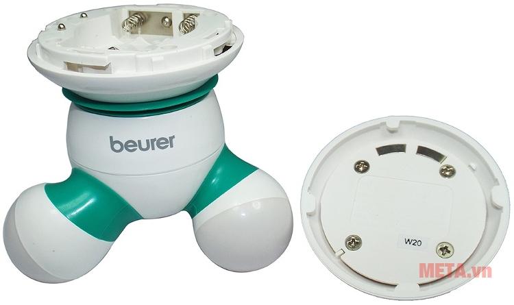 Máy massage cầm tay Beurer MG16 thiết kế chạy pin.