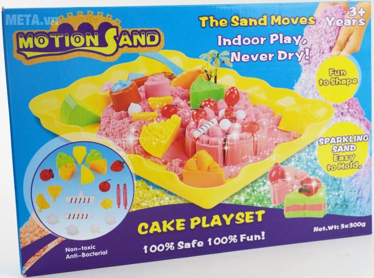 Cát tạo hình bánh sinh nhật Motion Sand MS25