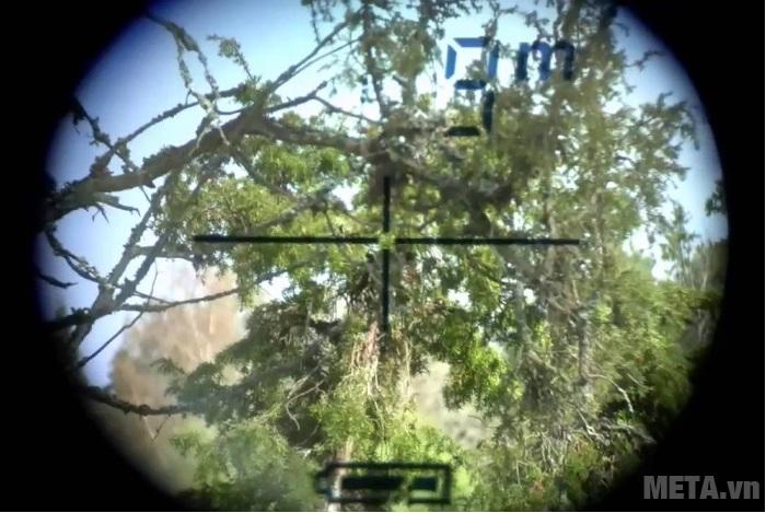 Ống nhòm đo khoảng cách Nikon Aculon AL11 cho hình ảnh thật rõ ràng.