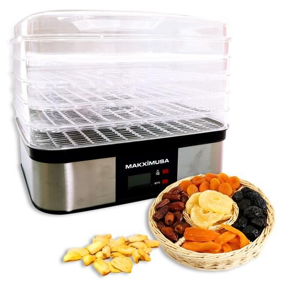 Làm các món mứt trái cây khô tẩm đường thật đơn giản với máy sấy khô hoa quả, thực phẩm Makxim MKX-DH-2015