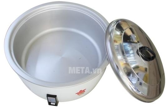 Nồi cơm điện Sharp KSH-1010V (KSH-D1010V) giữ nhiệt hoàn hảo.
