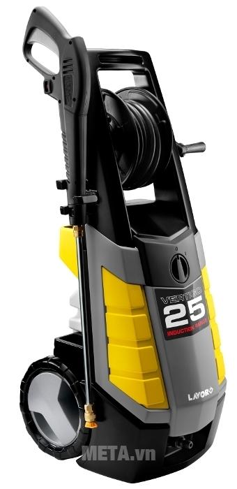 Máy rửa xe Lavor Vertigo 25 thiết kế nhỏ gọn, mẫu mã đẹp và sang trọng.
