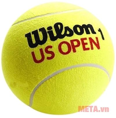 Bóng tennis Wilson US Open 4 ball phủ lớp nỉ dày mang đến sự ổn định và độ bền cao.