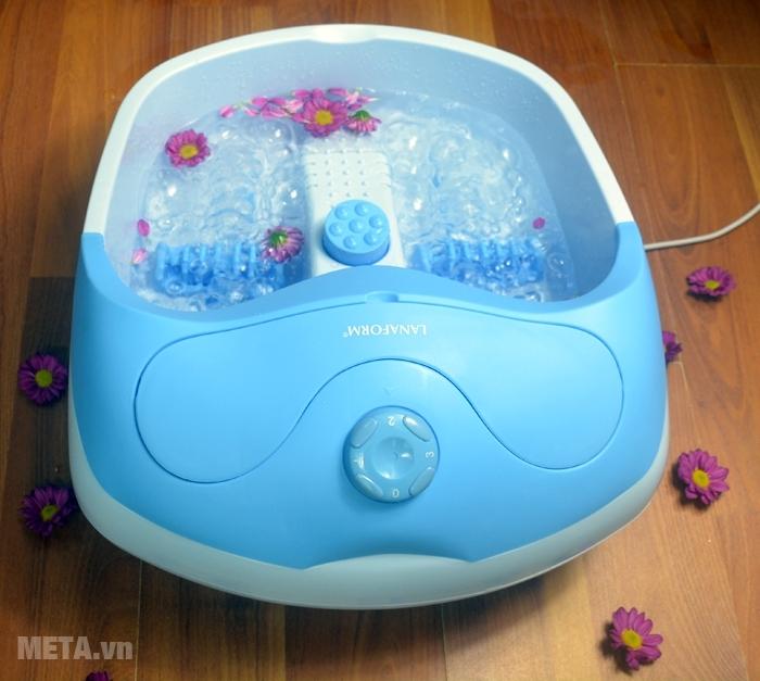 Nút vặn điều chỉnh chức năng của bồn massage chân Lanaform Bubble Footcare LA110412