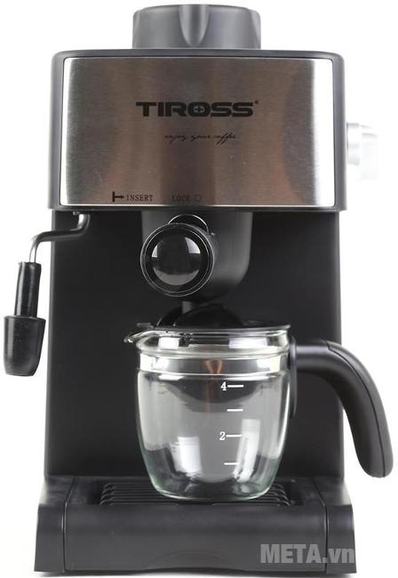 Máy pha cà phê Espresso Tiross TS621 có hệ thống chống nhỏ giọt giúp giữ vệ sinh máy.