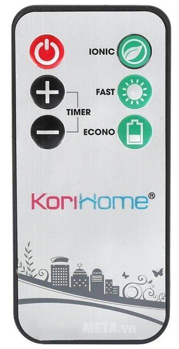 Điều khiển từ xa của máy sấy quần áo KoriHome CDK236