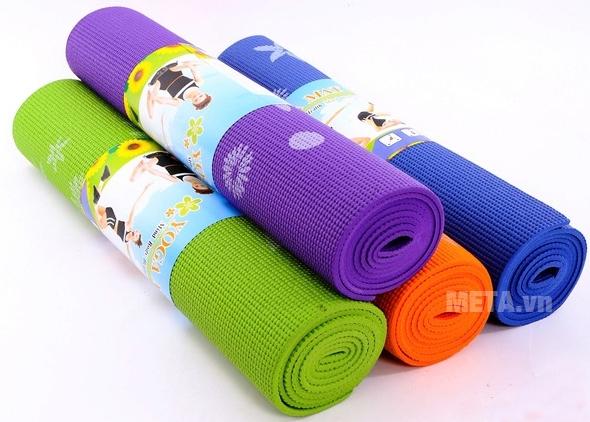 Thảm Yoga hoa WP2 có nhiều màu