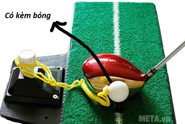 Thảm tập Golf Swing Mat kèm bóng nhựa
