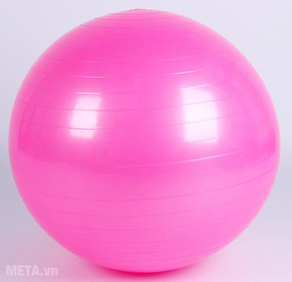 Bóng tập Yoga cao cấp trơn màu hồng