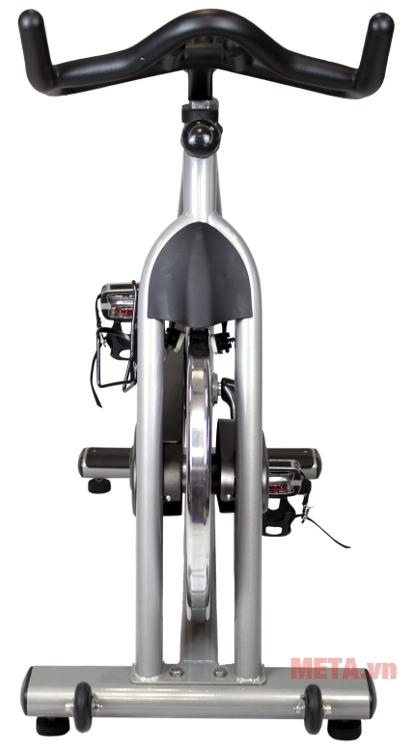 Xe đạp Impulse PS300 có tay cầm bọc cao su mềm, êm ái