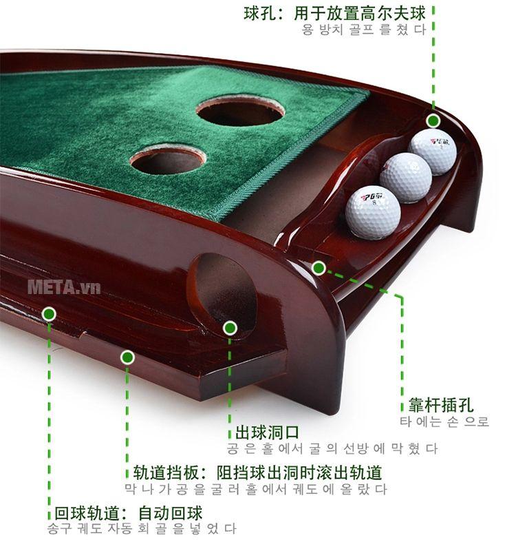 Thảm tập golf putting PGM TL-003 là dòng thảm tập chất lượng cao