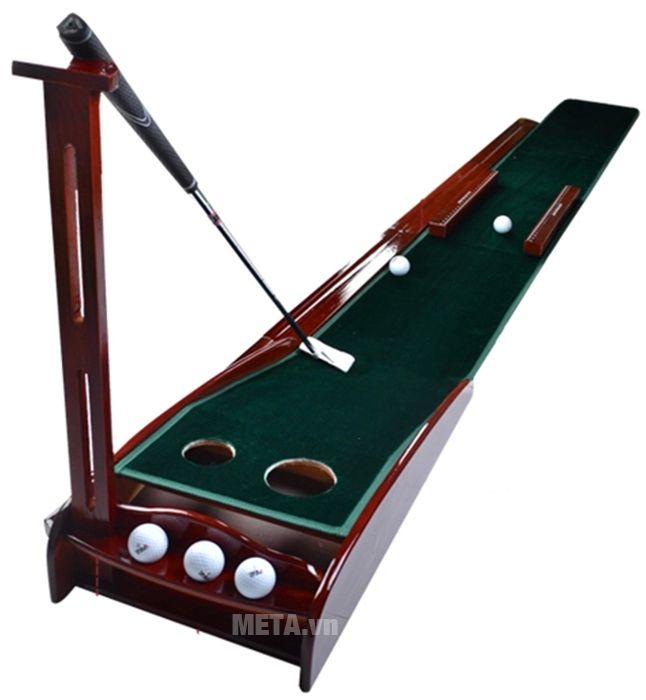Thảm tập golf putting PGM TL-003 có chỗ dựng gậy golf